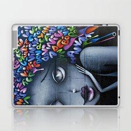 girl letters grafitti Laptop & iPad Skin