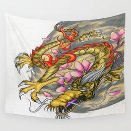 Warp Dragon Wall Tapestry