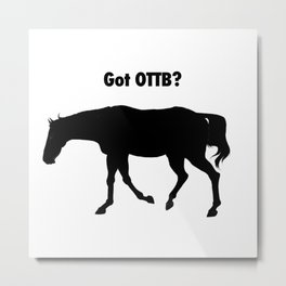 Got OTTB? Metal Print