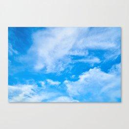 Sky Clouds Canvas Print