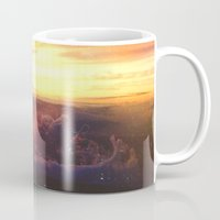 rogue Mugs featuring Planet Rogue by Daniel Montero