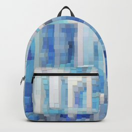Abstract blue pattern 2 Backpack