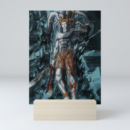 Ifrit ffxv astral corrupted artwork Mini Art Print