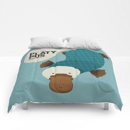 Hello Platypus Comforters