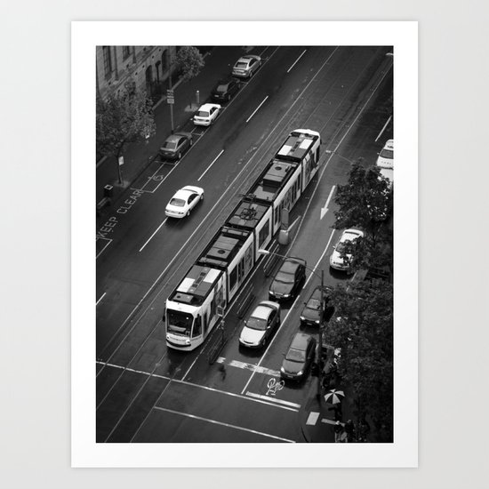 Urban Caterpillar. Art Print