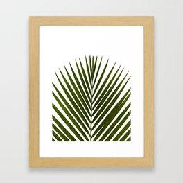 Bamboo - Tropical Botanical Print Framed Art Print