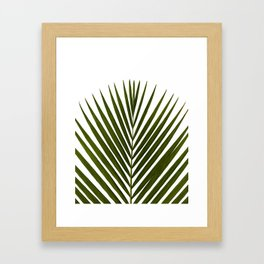Bamboo - Tropical Botanical Print Framed Art Print