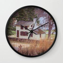 Innis House Fredericksburg and Spotsylvania National Military Park Virginia Civil War Historic Home  Wall Clock