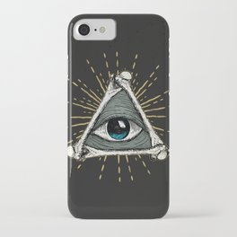 All seeing eye of God iPhone Case