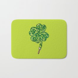 Clover - Make own luck Bath Mat