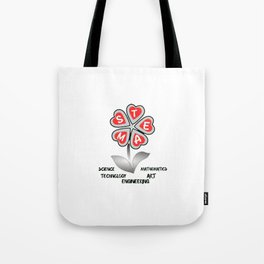 TEM Science Tech Engineering Tote Bag