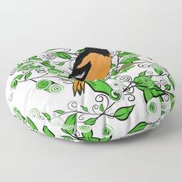 Oriole Song Bird Floor Pillow