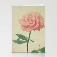 blush Stationery Cards featuring Blush by Cassia Beck