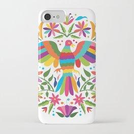 Mexican Otomí Circle Design iPhone Case