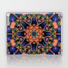BBQSHOES: Kaleidoscopic Fractal Digital Art Design 1702K Laptop & iPad Skin