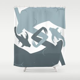 Pisces (Feb 18 - Mar 20) Shower Curtain