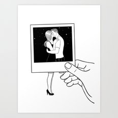 We used to be together Art Print