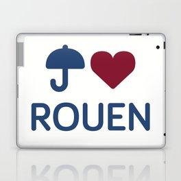 """I """"Love"""" Rouen Laptop & iPad Skin"""