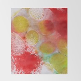 Abstract No. 311 Throw Blanket