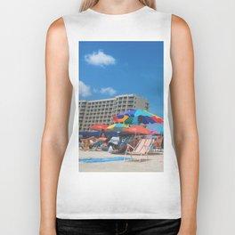 Just Beachin Biker Tank