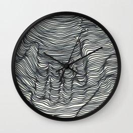 seismic waves Wall Clock