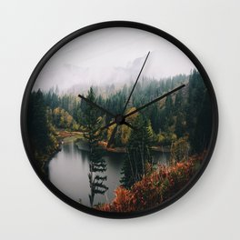 Gillette Lake Wall Clock