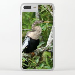 Anhinga Clear iPhone Case