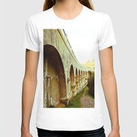 hollywood T-shirts featuring Hollywood Reservoir by Kim Ramage