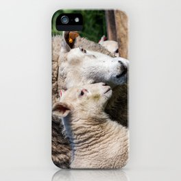lamb iPhone Case