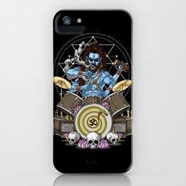 Shiva Hindu God Drummer iPhone Case
