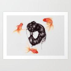 Hair Sequel II Art Print