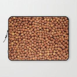 Black chickpeas food background Laptop Sleeve
