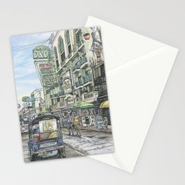 One day in Bangkok Stationery Cards