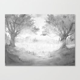 The Night Wire Canvas Print