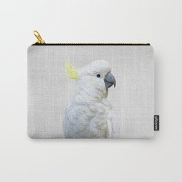 White Cockatoo - Colorful Carry-All Pouch