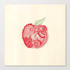 An Apple A Day... Canvas Print