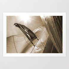 Pride in Our Sails Art Print