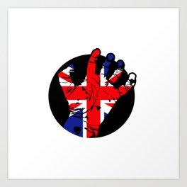 Britain Hand Art Print