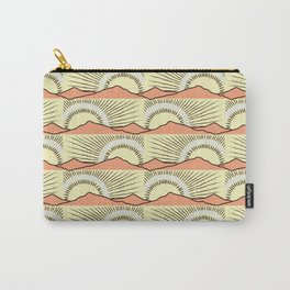 Vintage Sunrise Carry-All Pouch