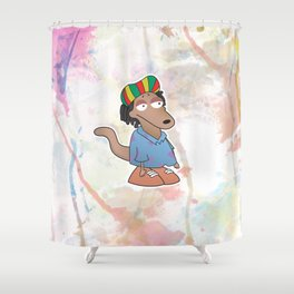 Rocko di rasta Shower Curtain