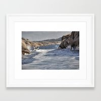 sweden Framed Art Prints featuring Sweden by Jan Helge