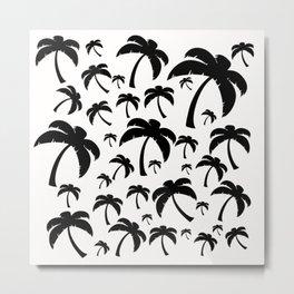 Palm Dot Metal Print