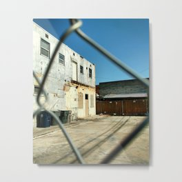 Fence 1, 2019 from Roberta Winters Photography Metal Print