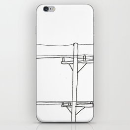 Wires iPhone Skin