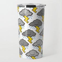Electric Clouds Travel Mug
