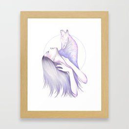 Wolves In You Framed Art Print