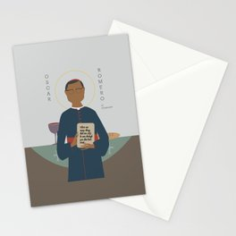 Oscar Romero of El Salvador Stationery Cards