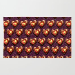 Say It With Chocolate #1 Rug