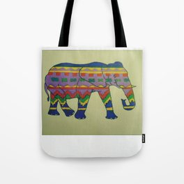 Polaroid Tribal Elephant Tote Bag