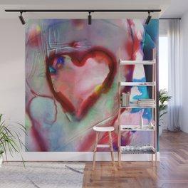 Heart Dreams 4H by Kathy Morton Stanion Wall Mural